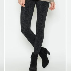 Joie Keena charcoal and gray slim fit pants